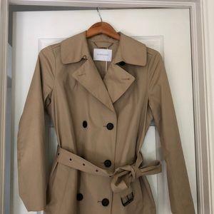 Everlane classic trench coat NWOT